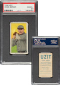 Baseball Cards:Singles (Pre-1930), 1909-11 T206 Uzit Heinie Berger PSA Good+ 2.5 - Pop One, Two Higher For Brand. ...