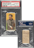 Baseball Cards:Singles (Pre-1930), 1909-11 T206 Lenox-Black Mordecai Brown (Chicago On Shirt) PSA Authentic - Only Two PSA-Graded Examples!...