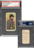 Baseball Cards:Singles (Pre-1930), 1909-11 T206 Lenox-Black Howie Camnitz (Arms at Side) PSA VG 3 - Pop Two, None Higher For Brand. ...