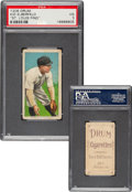 Baseball Cards:Singles (Pre-1930), 1909-11 T206 Drum Kid Elberfeld (Washington-Fielding) PSA VG 3 - The One and Only Confirmed Drum Back! ...