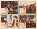 "Movie Posters:Foreign, Babette Goes to War (Columbia, 1960). Very Fine-. Lobby Cards (4) (11"" X 14""). Foreign.. ... (Total: 4 Items)"