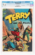 Golden Age (1938-1955):Adventure, Four Color #101 Terry and the Pirates - Crowley Copy Pedigree (Dell, 1946) CGC NM+ 9.6 Off-white to white pages....