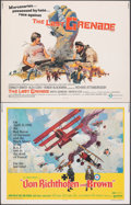 "Movie Posters:War, Von Richthofen and Brown & Other Lot (United Artists, 1971). Overall: Fine/Very Fine. Half Sheets (46) (22"" X 28""). War.. ... (Total: 46 Items)"