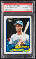 Baseball Cards:Singles (1970-Now), 1989 Topps Traded Ken Griffey Jr. #41T PSA Gem Mint 10....