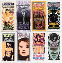 Mark Arminski Handbill Collection with Signed and Remarqued COA
