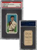 Baseball Cards:Singles (Pre-1930), 1909-11 T206 Cycle 460 Christy Mathewson (Dark Cap) PSA EX 5 - Pop One, None Higher For Brand/Series! ...