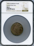 German States:Saxony, German States: Saxony. Johann George I Taler 1650-CR MS61 NGC,...