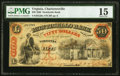 Obsoletes By State:Virginia, Charlottesville, VA- Monticello Bank $50 Sep. 6, 1860 G28a J-L BC25-35 PMG Choice Fine 15.. ...