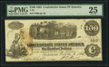 Confederate Notes:1862 Issues, T40 $100 1862 PF-1 Cr. 298 PMG Very Fine 25.. ...