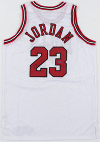 Michael Jordan Signed Chicago Bulls UDA Jersey