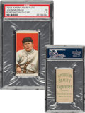 Baseball Cards:Singles (Pre-1930), 1909-11 T206 American Beauty 460 John McGraw (Portrait-With Cap) PSA Fair 1.5 - Only Four Confirmed AB 460 Backs! ...