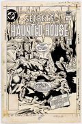 Original Comic Art:Covers, Rich Buckler and Bob Smith Secrets Of Haunted House #32 Cover Original Art (DC, 1981)....