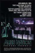 """Movie Posters:Science Fiction, Alien Nation & Other Lot (20th Century Fox, 1988). Rolled, Very Fine-. One Sheets (2) (27"""" X 39.75"""" & 27"""" X 41"""") SS. Science... (Total: 2 Items)"""