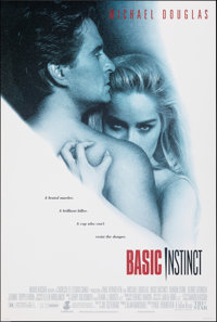 "Basic Instinct & Other Lot (Tri-Star, 1992). Rolled, Very Fine. One Sheets (2) (26.75"" X 39.75"" & 27&q..."
