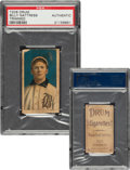 Baseball Cards:Singles (Pre-1930), 1909-11 T206 Drum Billy Nattress PSA Authentic - Only Graded Example For Brand! ...