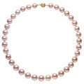 Estate Jewelry:Necklaces, Dyed Freshwater Cultured Pearl, Gold Necklace . ...