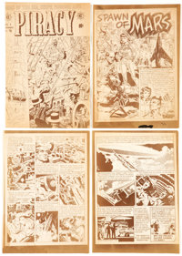 Wally Wood Piracy #1 and Other EC Comics Silverprint Proofs Group of 30 (EC, c. 1950s).... (Total: 30 Items)