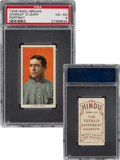 Baseball Cards:Singles (Pre-1930), 1909-11 T206 Hindu-Brown Charley O'Leary (Portrait) PSA VG-EX 4 - Pop One, None Higher For Brand! ...