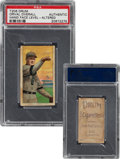 Baseball Cards:Singles (Pre-1930), 1909-11 T206 Drum Orval Overall (Hand Face Level) PSA Authentic - Only Two PSA-Graded Drum Backs! ...