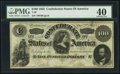 Confederate Notes:1862 Issues, T49 $100 1862 PF-2 Cr. 348 PMG Extremely Fine 40.. ...