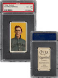 Baseball Cards:Singles (Pre-1930), 1909-11 T206 Cycle 350 George Perring PSA EX-MT 6 - Pop One, None Higher For Brand! ...