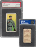 Baseball Cards:Singles (Pre-1930), 1909-11 T206 Hindu-Brown Arch Persons PSA EX-MT 6 - Pop One, None Higher For Brand! ...