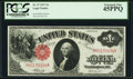 Large Size:Legal Tender Notes, Fr. 37 $1 1917 Legal Tender PCGS Extremely Fine 45PPQ.. ...