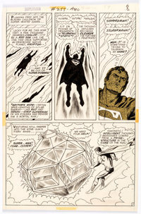 Curt Swan and Murphy Anderson Superman #255 Story Page 7 Original Art (DC, 1972)