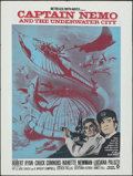 """Movie Posters:Science Fiction, Captain Nemo and the Underwater City (MGM, 1969). Folded, Very Fine-. South African Poster (30.25"""" X 40.25""""). Science Fictio..."""