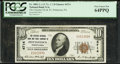 National Bank Notes:Pennsylvania, Pottstown, PA - $10 1929 Ty. 1 The Citizens National Bank & Trust Company Ch. # 4714 PCGS Very Choice New 64PPQ.. ...