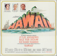 "Hawaii (United Artists, 1966). Folded, Very Fine. Six Sheet (80.25"" X 78.5""). Mitchell Hooks Artwork. Drama..."