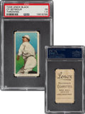 Baseball Cards:Singles (Pre-1930), 1909-11 T206 Lenox-Black Cy Seymour (Throwing) PSA Fair 1.5 - Only Two PSA-Graded Examples! ...