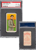 Baseball Cards:Singles (Pre-1930), 1909-11 T206 Hindu - Red Zack Wheat PSA VG-EX+ 4.5 - Pop One, Two Higher For Brand. ...
