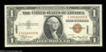 Small Size:World War II Emergency Notes, Fr. 2300 $1 1935A Hawaii Silver Certificate. Choice Crisp ...