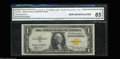 Small Size:World War II Emergency Notes, Fr. 2306 $1 1935A North Africa Silver Certificate. CGA Gem ...