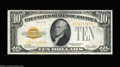 Small Size:Gold Certificates, Fr. 2400 $10 1928 Gold Certificates. Two Consecutive ... (2 notes)