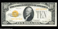 Small Size:Gold Certificates, Fr. 2400 $10 1928 Gold Certificates. Choice Crisp ... (2 notes)