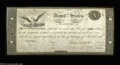 Large Size:Demand Notes, Act of February 24, 1815 $10 Treasury Note Choice New. An ...