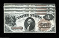 Large Size:Legal Tender Notes, Fr. 30 $1 1880 Legal Tender Cut Sheet of Four Very Choice ... (4notes)