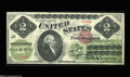 Large Size:Legal Tender Notes, Fr. 41 $2 1862 Legal Tender Superb Gem New. This example ...