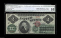 Large Size:Legal Tender Notes, Fr. 41 $2 1862 Legal Tender CGA Gem Uncirculated 65. This ...