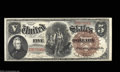 Large Size:Legal Tender Notes, Fr. 70 $5 1880 Legal Tender Superb Gem New. By far the ...