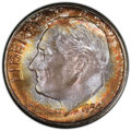 Roosevelt Dimes, 1954-S 10C MS68 PCGS. PCGS Population: (9/0 and 0/0+). NGC Census: (4/0 and 0/0+). Mintage 22,860,000. ...