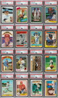Autographs:Sports Cards, Signed 1972-1983 Topps, SSPC, Donruss Tom Seaver Card Collection (16). ...