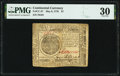 Continental Currency May 9, 1776 $7 PMG Very Fine 30