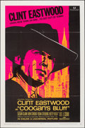 """Movie Posters:Crime, Coogan's Bluff (Universal, 1968). Folded, Very Fine. One Sheet (27"""" X 41""""). Crime.. ..."""