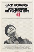 """Movie Posters:Academy Award Winners, One Flew Over the Cuckoo's Nest (United Artists, 1975). Folded, Fine/Very Fine. One Sheet (27"""" X 41""""). Academy Award Winners..."""