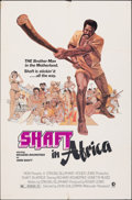 """Movie Posters:Blaxploitation, Shaft in Africa & Other Lot (MGM, 1973). Folded, Fine/Very Fine. One Sheets (5) (27"""" X 41""""). John Solie Artwork. Blaxploitat... (Total: 5 Items)"""