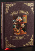 Movie Posters:Animation, Walt Disney's Uncle Scrooge McDuck: His Life & Times by Carl Barks (Celestial Arts, 1981). Very Fine/Near Mint. Numbered Lim... (Total: 2 Items)