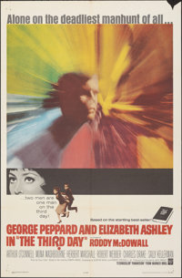 """The Third Day & Other Lot (Warner Bros., 1965). Folded, Fine/Very Fine. One Sheets (2) (27"""" X 41""""). Drama..."""